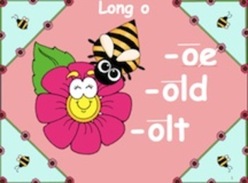 Powerpoint Phonics Drill Long o (oe, old, olt word families)