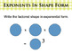 Powerpoint Positive Powers & Exponents Interactive Lesson