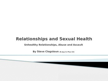 Powerpoint Presentation : Healthy and Unhealthy Relationships