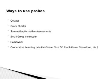 Powerpoint Presentation For Probes