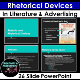 Powerpoint: Rhetorical Devices in Literature and Advertisements