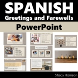 Spanish Powerpoint, Saludos y Despedidas, Greetings and Farewells