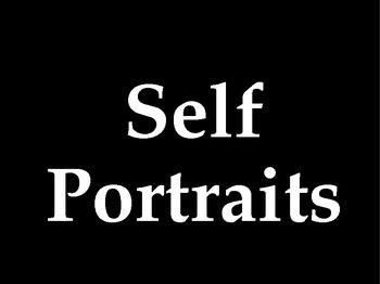 Powerpoint- Self Portraits