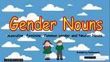 ★PPT Slides- English Gender Nouns (Masculine, Feminine, Ne
