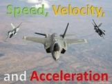 Powerpoint: Speed, Velocity & Acceleration