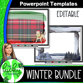 Powerpoint Templates | Winter Theme | PPT BUNDLE