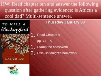 Powerpoint Templates for To Kill a Mockingbird