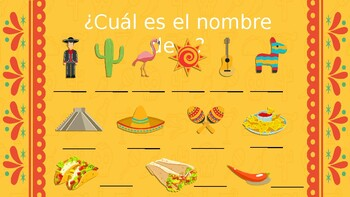 Powerpoint activities about Mexico