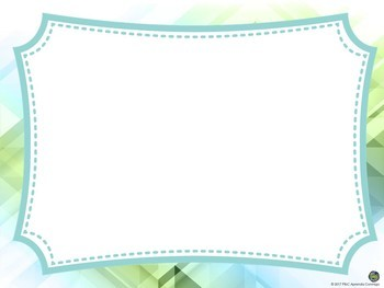 Background blue/green/white and powerpoint template