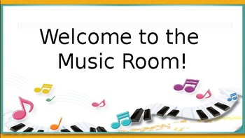 Powerpoint for Music Open House