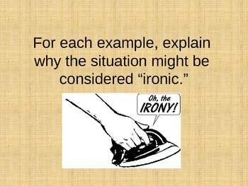 Powerpoint for Teaching Irony