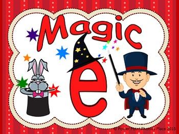 Magic e  Power Points & Printables