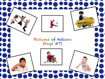 VB Assessment Kit - PPT for 50 Actions - Autism / ABA