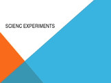 Powerpoint - introducing science experiments