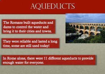 Powerpoint of Architecture from Ancient Rome