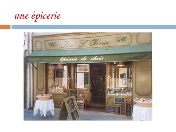 Powerpoint of French Stores
