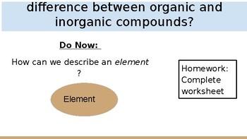 Powerpoint on Bio Chemestry (Organic and Inorganic)