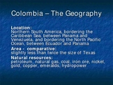 Powerpoint on Colombia