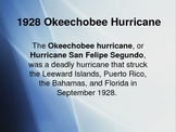 Powerpoint on Okeechobee Hurricane for Their Eyes were Wat