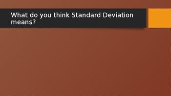 Powerpoint on Standard Deviation