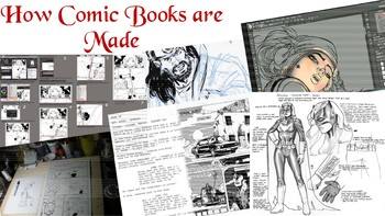 Powerpoint on how Comic Books are made