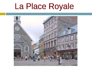 Powerpoint on the History of Quebec and Quebec City