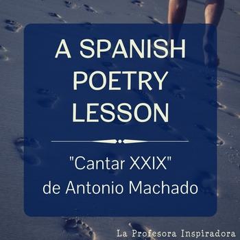 Powerpoint para enseñar Cantar XXIX de Antonio Machado