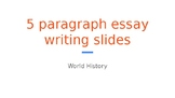 Powerpoint  to Accompany Sugar Trade DBQ Project