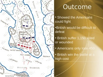 Powerpoint w/ Hyperlinks Events of the American Revolution