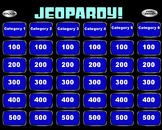 Jeopardy Powerpoint + Smartboard Template