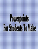 Powerpoints For Students To Make - Computer Class -Aesop Fable