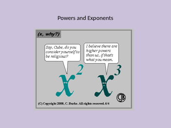 Powers and Exponents