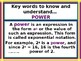 Power-Point:  Powers and Exponents