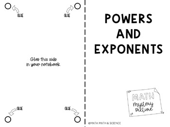 Powers and Exponents: Mystery Picture (Emoji)