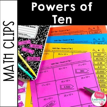 Powers of 10 Activity