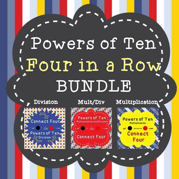 Powers of Ten - Four in a Row - BUNDLE