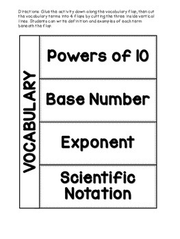 Powers of 10 [Interactive Notebook]