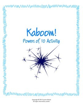 Powers of 10 Kaboom