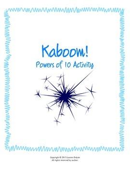 Powers of 10 Kaboom