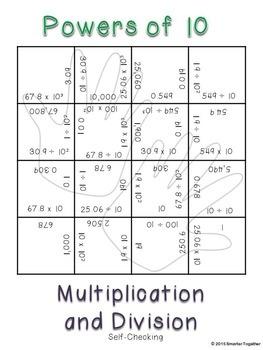Powers of 10 - Magic Squares