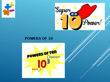 Powers of 10 powerpoint lesson