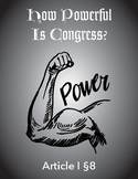 How Powerful Is Congress?