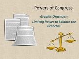 Powers of Congress Graphic Organizer