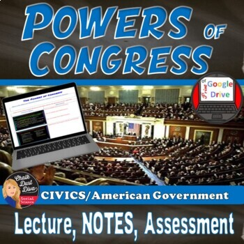 Powers Of Congress Teaching Resources Teachers Pay Teachers