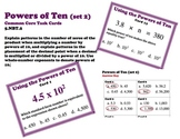 Powers of Ten Common Core 5.NBT.3 Task Cards (set 2)