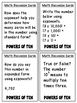 Powers of 10 (Task and Discussion Cards)