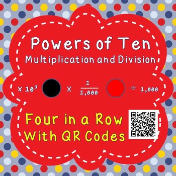 Powers of Ten - Multiplication and Division - Four in a Ro
