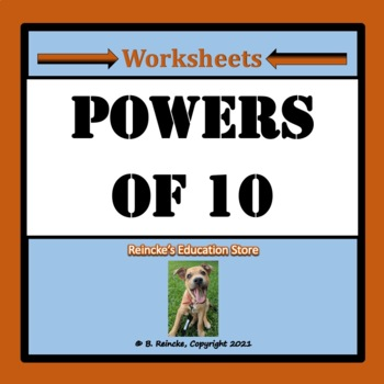 Powers of Ten Practice Worksheets