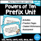 Powers of Ten Prefixes - Teach Greek and Latin Number Pref