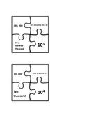 Powers of Ten Puzzle